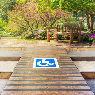 Parks with disabled access